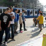 """Cảnh sát Hà Lan: """"Chúng tôi cũng muốn tập Pháp Luân Công!"""""""